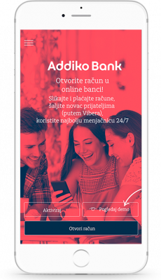 Addiko Banka Go digitalni račun