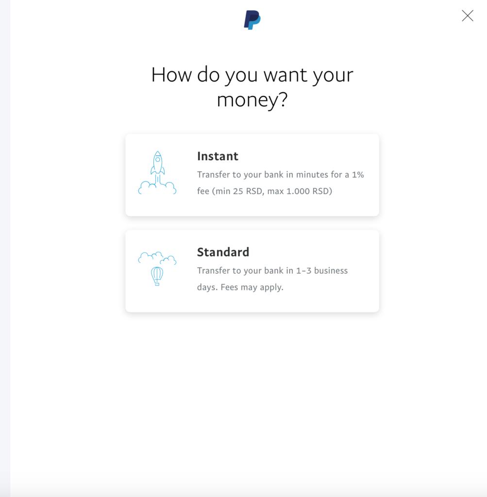 Dva nova načina isplate novca sa PayPala