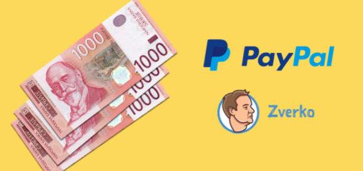 Promene za srpske biznis paypal naloge